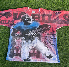 Load image into Gallery viewer, Vintage Buffalo Bills Jim Kelly T Shirt Size Large