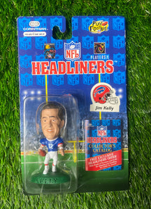 Vintage Buffalo Bills Jim Kelly Headliner