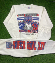 Load image into Gallery viewer, Vintage Buffalo Bills Super Bowl Sweatsuit Size Medium