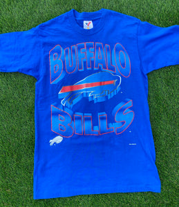 Vintage Buffalo Bills T Shirt Size Medium