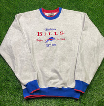 Load image into Gallery viewer, Vintage Buffalo Bills Crewneck Size XL