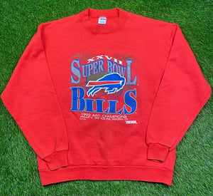Vintage Buffalo Bills Crewneck Size Medium
