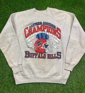 Vintage Buffalo Bills Crewneck Size Large