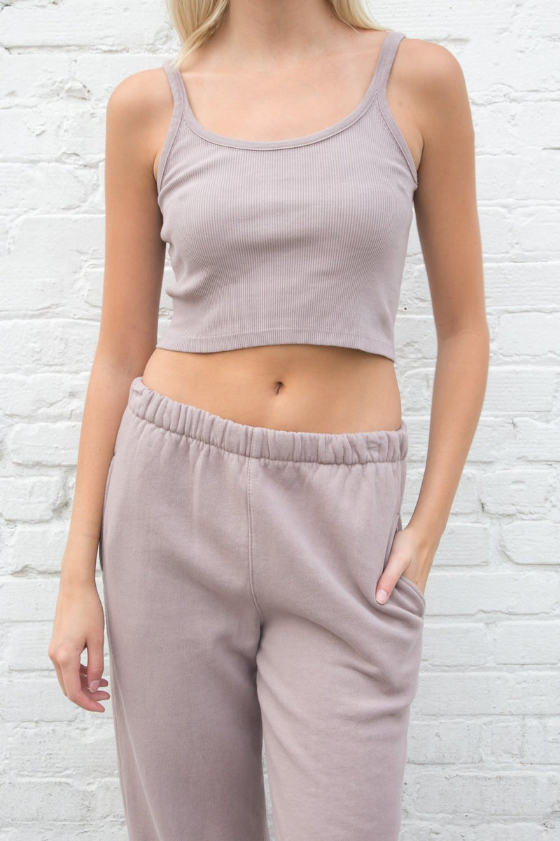 Purple Taupe / Cropped Fit