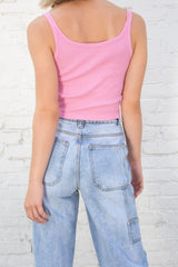 Bubblegum Pink / Cropped Fit