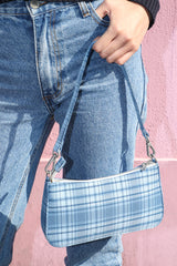 Deep Blue Plaid