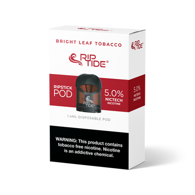 Bright Leaf Tobacco - RipTide Disposable Pod