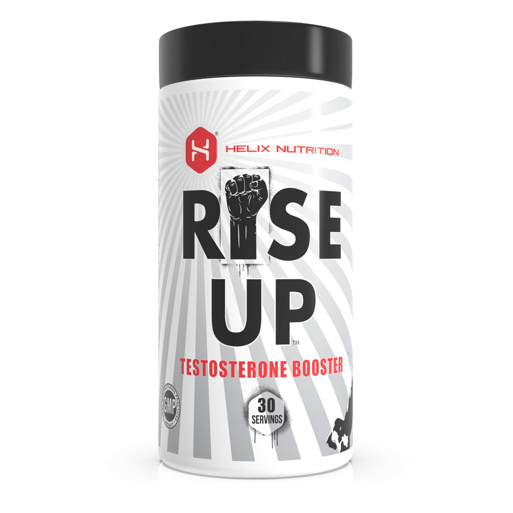 Rise Up Testosterone Booster image of front