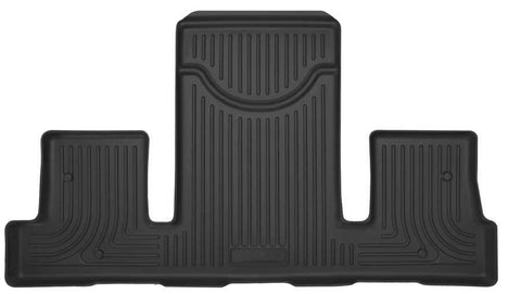 Buick Enclave Leather 2008-2017 - Black 3rd Seat Floor Liner - X-act Contour Series