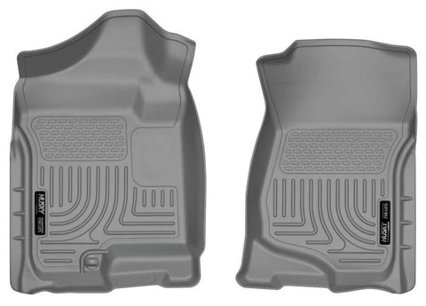 Chevrolet Avalanche LS 2007-2013 - Gray Front Floor Liners - Weatherbeater Series