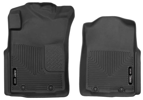 Toyota Tacoma X-Runner Extended Cab2005-2011 - Black Front Floor Liners - X-act Contour Series