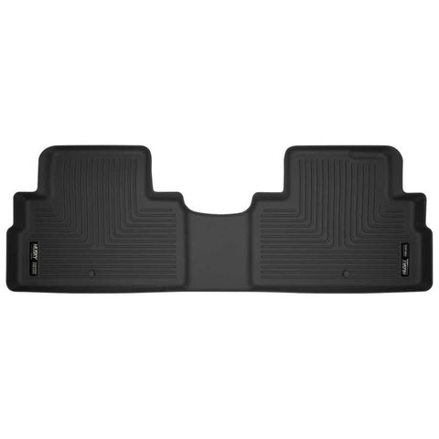 Hyundai Palisade Essential 2020-2020 - Black 2nd Seat Floor Liner - X-act Contour Series