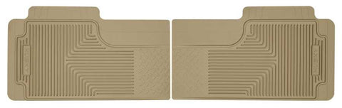 Honda Pilot Value Package 2003-2008 - Tan 2nd Or 3rd Seat Floor Mats - Heavy Duty Floor Mat