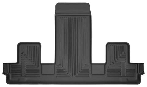 Buick Enclave Essence 2018-2020 - Black 3rd Seat Floor Liner - Weatherbeater Series