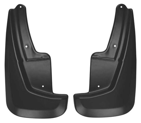 Dodge Durango Crew Plus 2011-2020 - Black Front Mud Guards - Custom Mud Guards