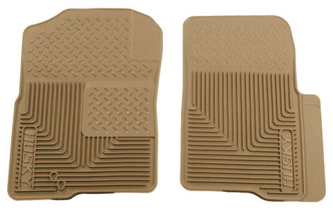 Lincoln Navigator L Ultimate 2003-2014 - Tan Front Floor Mats - Heavy Duty Floor Mat