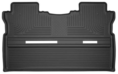 Honda Ridgeline RTL 2017-2020 - Black 2nd Seat Floor Liner - Weatherbeater Series