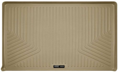 Ford Expedition EL Platinum 2007-2017 - Tan Cargo Liner Behind 3rd Seat - Weatherbeater Series