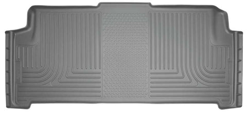 Dodge Grand Caravan 30th Anniversary Edition With Stow and Go Seats2008-2020 - Gray 2nd Seat Floor Liner - Weatherbeater Series