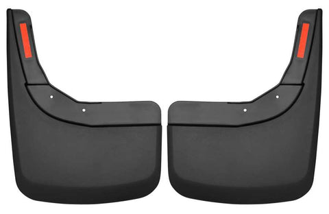 Chevrolet Silverado 1500 LT Trail Boss Standard Side Bed2019-2020 - Black Rear Mud Guards - Custom Mud Guards