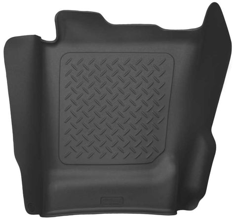Chevrolet Silverado 3500 HD High Country Crew Cab2015-2019 - Black Center Hump Floor Liner - Weatherbeater Series