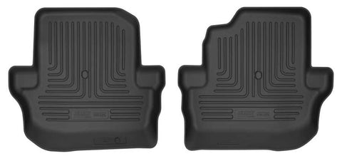 Jeep Wrangler (JL) Rubicon 2018-2020 - Black 2nd Seat Floor Liner - Weatherbeater Series