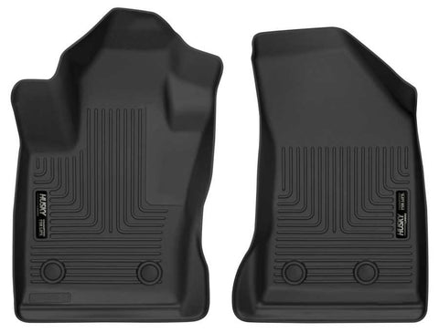 Jeep Compass North 2017-2020 - Black Front Floor Liners - X-act Contour Series