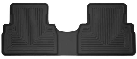 Hyundai Santa Fe Essential 2019-2020 - Black 2nd Seat Floor Liner - X-act Contour Series