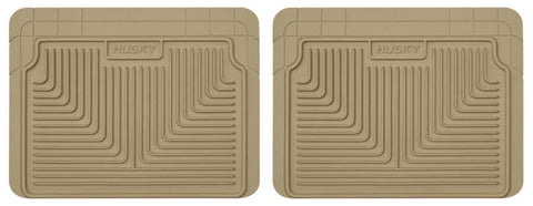 Dodge Caravan C/V 1984-2007 - Tan 2nd Or 3rd Seat Floor Mats - Heavy Duty Floor Mat