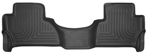 Cadillac Escalade Luxury 2015-2020 - Black 2nd Seat Floor Liner - Weatherbeater Series