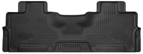Ford Expedition EL Platinum 2012-2017 - Black 2nd Seat Floor Liner - Weatherbeater Series