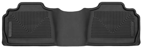 Chevrolet Avalanche Black Diamond LT 2007-2013 - Black 2nd Seat Floor Liner - X-act Contour Series