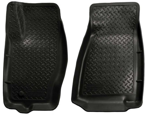 Jeep Grand Cherokee North Edition 2005-2010 - Black Front Floor Liners - Classic Style Series