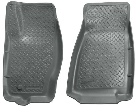 Jeep Grand Cherokee North Edition 2005-2010 - Gray Front Floor Liners - Classic Style Series