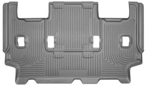 Ford Expedition EL XL 2012-2017 - Gray 3rd Seat Floor Liner - Weatherbeater Series