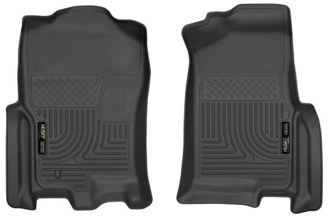 Lincoln Navigator L Ultimate 2007-2010 - Black Front Floor Liners - Weatherbeater Series