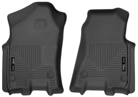 Ram 1500 Lone Star Crew Cab2019-2020 - Black Front Floor Liners - Weatherbeater Series