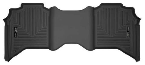 Ram 2500 Power Wagon Crew Cab2018-2020 - Black 2nd Seat Floor Liner - Weatherbeater Series