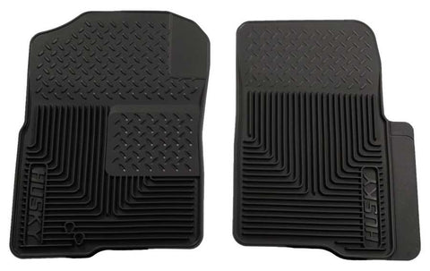 Lincoln Navigator L Ultimate 2003-2014 - Black Front Floor Mats - Heavy Duty Floor Mat