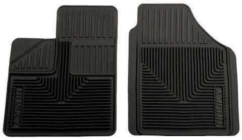 Honda Pilot Value Package 2003-2008 - Black Front Floor Mats - Heavy Duty Floor Mat