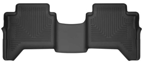 Ford Ranger Lariat Crew Cab2019-2020 - Black 2nd Seat Floor Liner - Weatherbeater Series