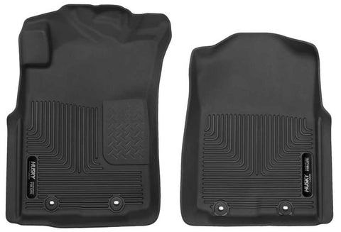 Toyota Tacoma X-Runner Extended Cab2012-2015 - Black Front Floor Liners - X-act Contour Series