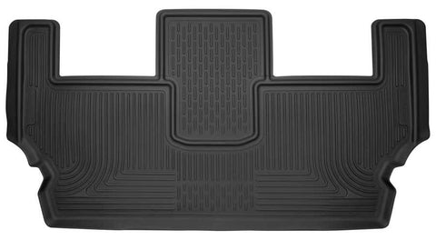 Chrysler Pacifica Touring L 2017-2020 - Black 3rd Seat Floor Liner - X-act Contour Series