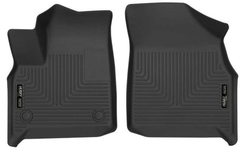 Chevrolet Traverse RS 2018-2020 - Black Front Floor Liners - Weatherbeater Series