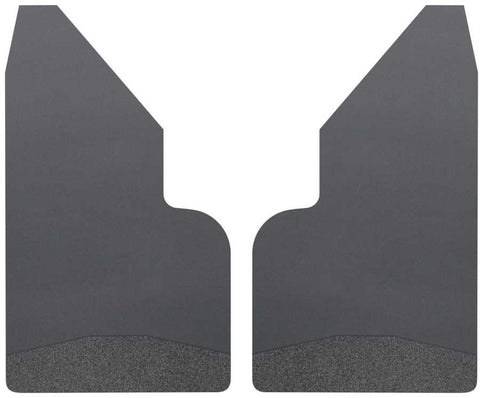 Ford Expedition EL Platinum 1997-2020 - Black Universal Mud Flaps 14in. Wide-Black Weight - Mud Flaps