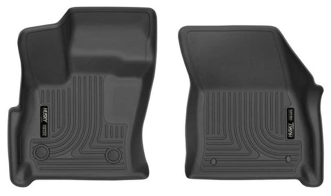 Lincoln Continental Select 2017-2019 - Black Front Floor Liners - Weatherbeater Series