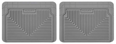 Dodge Caravan C/V 1984-2007 - Gray 2nd Or 3rd Seat Floor Mats - Heavy Duty Floor Mat