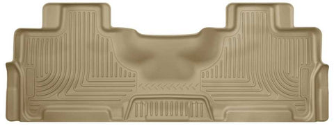 Lincoln Navigator Select 2012-2017 - Tan 2nd Seat Floor Liner - Weatherbeater Series
