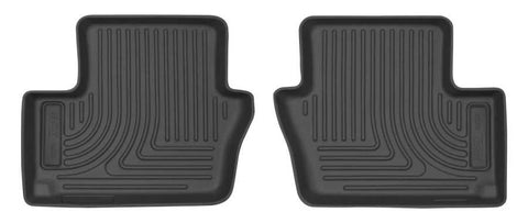 Dodge Caliber Rush 2007-2012 - Black 2nd Seat Floor Liner - Weatherbeater Series