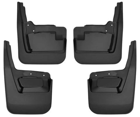 GMC Sierra 1500 Elevation Standard Side Bed2019-2020 - Front and Rear Mud Guard Set - Custom Mud Guards